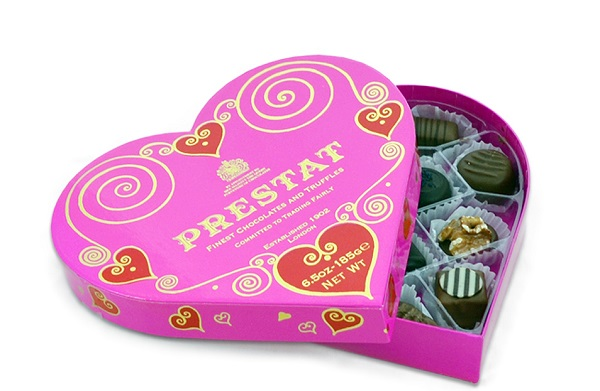 Prestat Heart Assortment - Top 15 Chocolate Brands