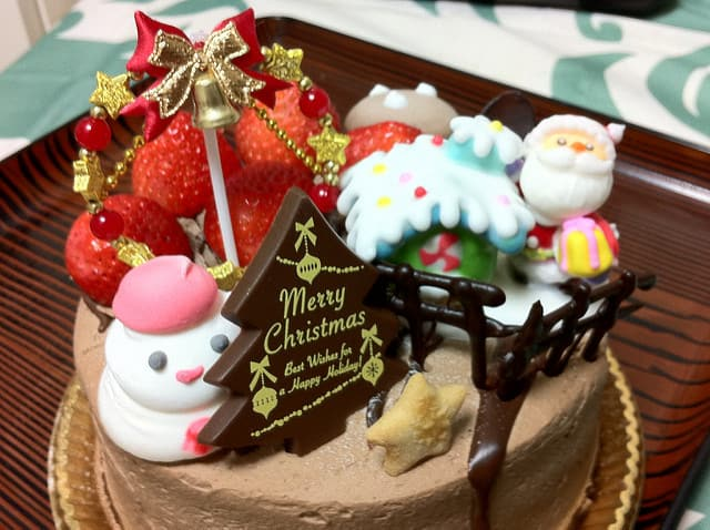 Chocolate Chirstmas Cake Design Ideas