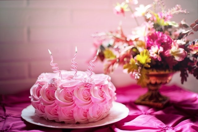 Pink Birthday cake design ideas