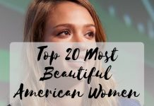 Top 20 Most Beautiful American Women