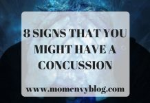 8 SIGNS THAT YOU MIGHT HAVE A CONCUSSION