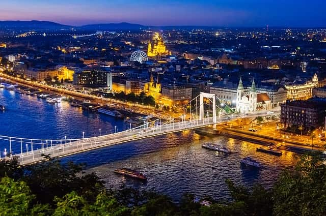 Budapest, Hungary - valentines day places to go