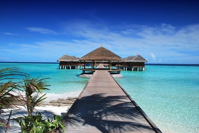 Maldives - valentines day places
