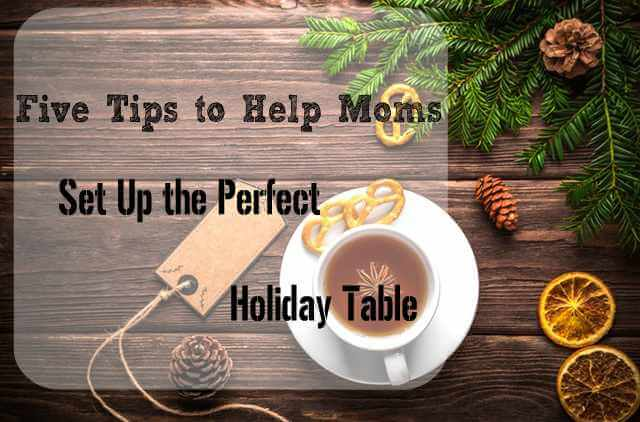 Perfect Holiday Table