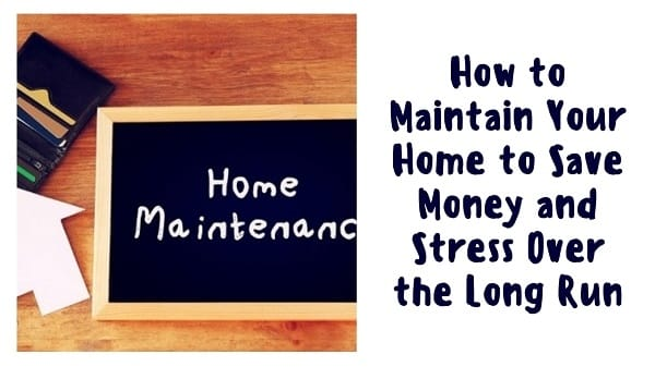 Maintain Your Home