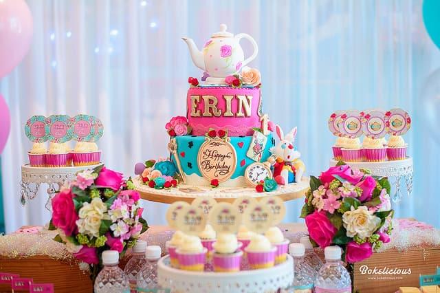 Boys & Girls Birthday Cake Design