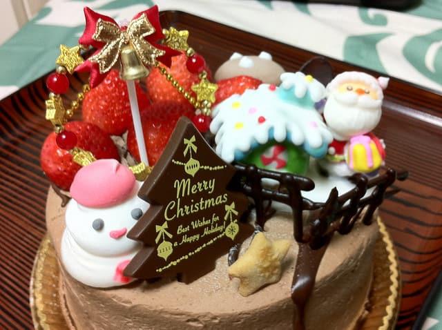 Chocolate Chirstmas Cake Design Ideas