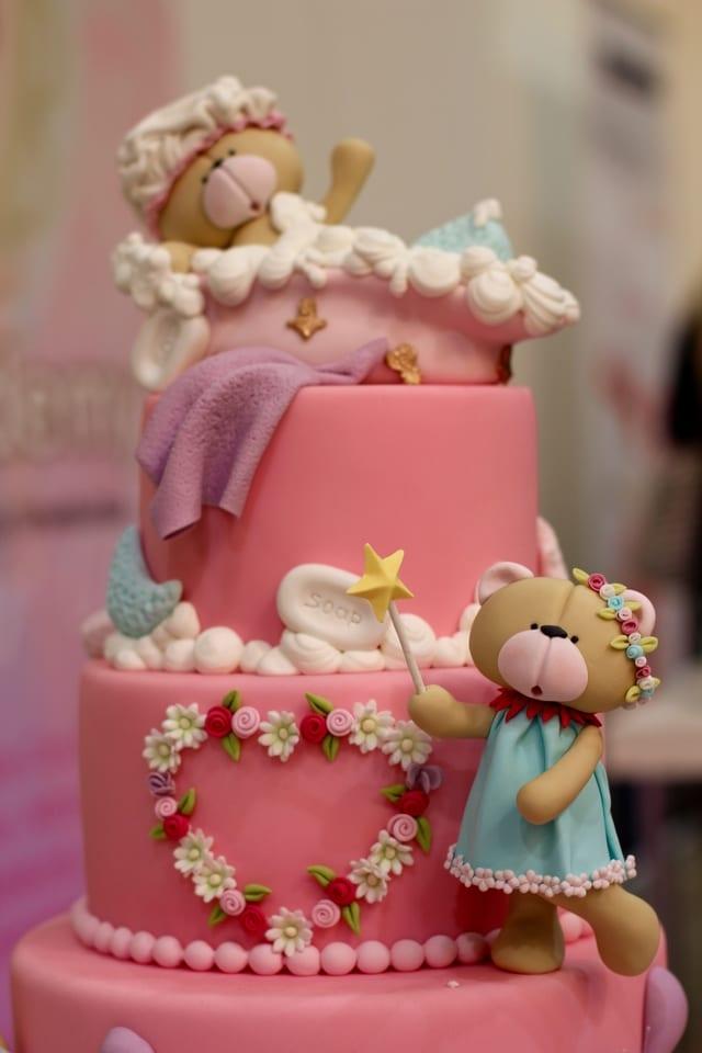 Girl Birthday Party Cake Design
