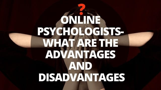 Online counselling