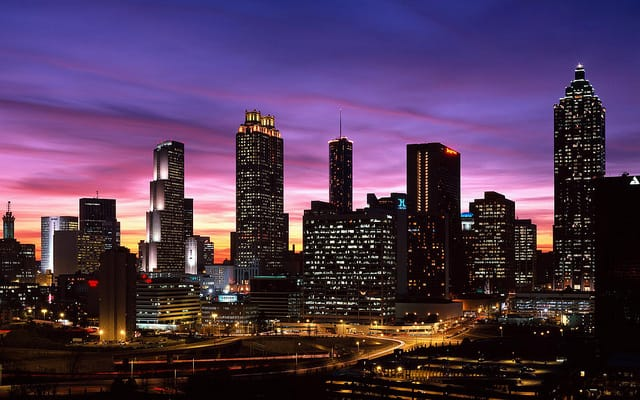 Atlanta - best places for valentines day