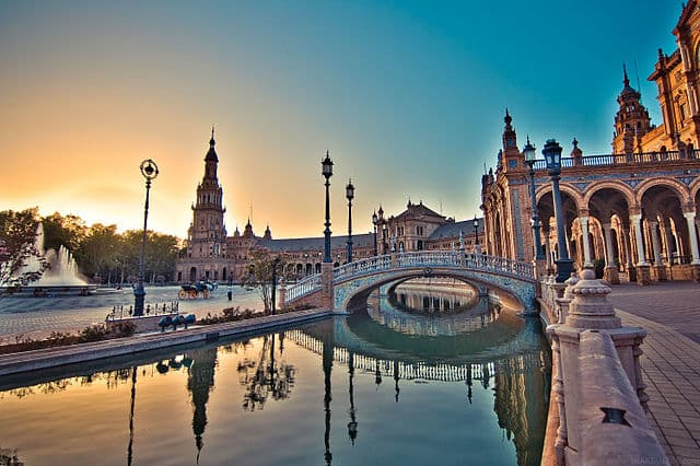 Seville, Spain - valentines day places