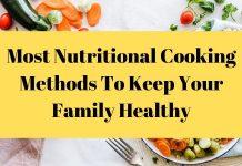 Nutritional Cooking Methods