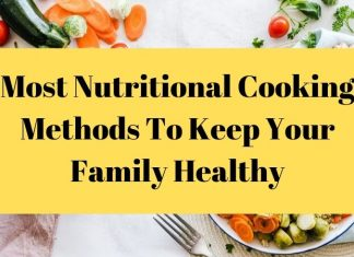 Nutritional Cooking Methods