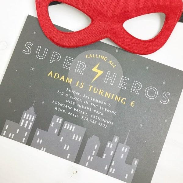 Trendy Birthday Party Invitation Ideas Mom Envy Blog