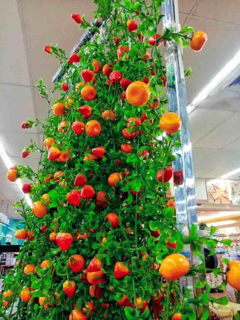 Artificial Fruits Christmas Tree Decor