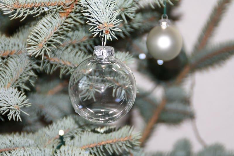 Glass Ball Christmas Tree Decor