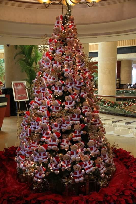 Small Bears Decor Christmas Tree
