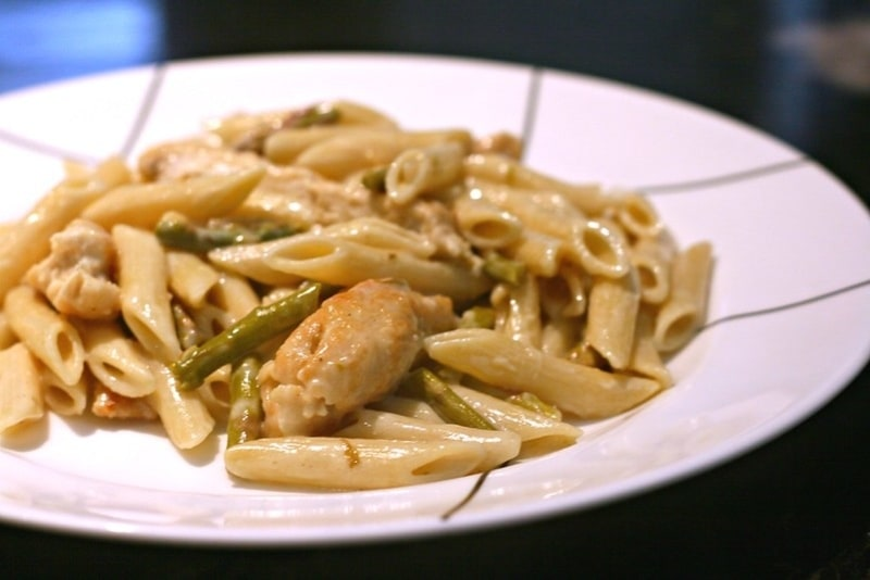 Chicken Stuff Pasta