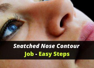 Nose makeup