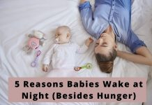 Babies Wake at Night
