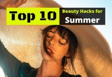 face beauty hacks for summer