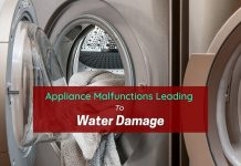 Appliance Malfunctions Leading To Water Damage