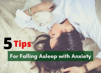 5 Tips for Falling Asleep with Anxiety