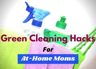 Green cleaning hacks for home