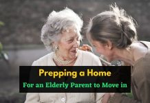 Prepping a Home for an Elderly Parent to Move in