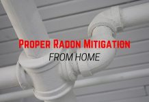 Proper Radon Mitigation from Home