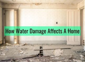 Water Damage Home
