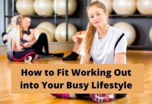 Working Out Busy Lifestyle