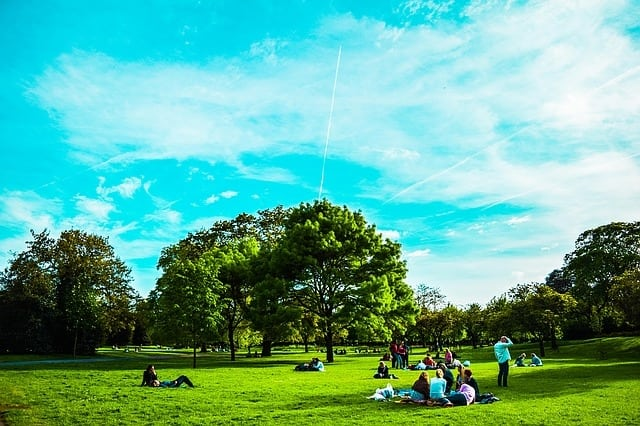London summertime hot spots